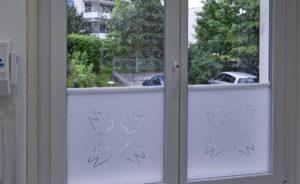 Fensterfolie lichtdurchlaessig