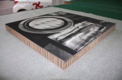 Ansicht Fine Art Print auf Re-Board ganz