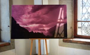 Fine Art Print Ausstellung Landschaftsfoto