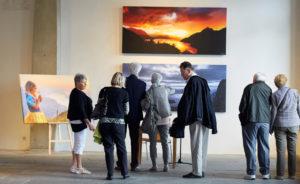 Fine Art Print Canvas Vernissage Landschaftsbild