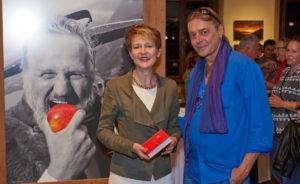 Fine Art Print Canvas Vernissage Luzern Fotograf Bundesrätin