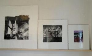 kunstdrucke hinter glas für ausstellung