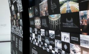 fine art prints platziert in museum