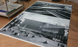 fine art print grossformat schwarz-weiss tapete