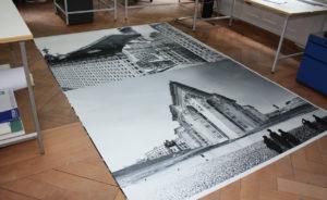 fine art print grossformat tapete