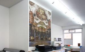 Phototex Grossformat bedruckt zur Wandgestaltung